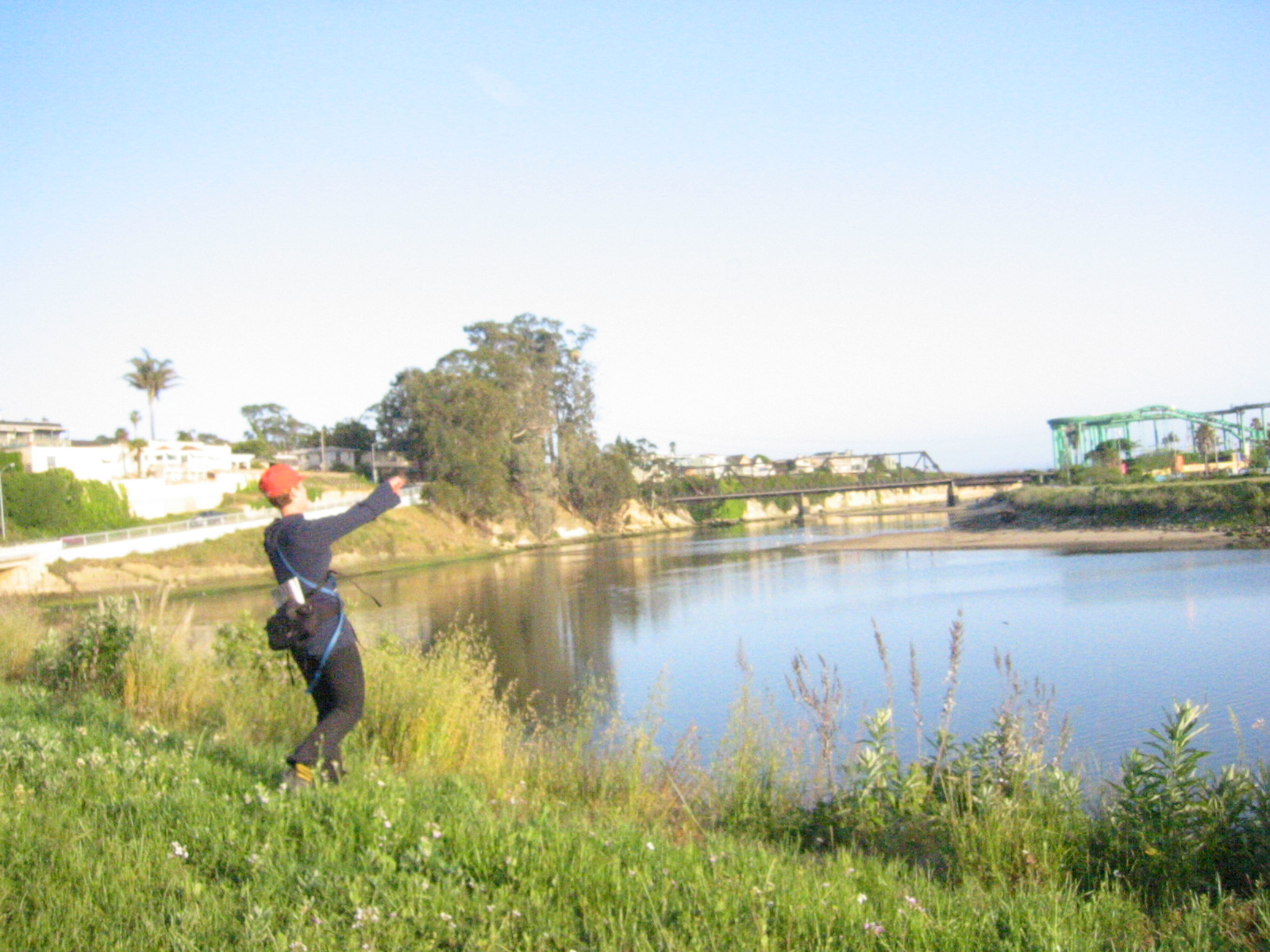 Illegal Throwing of Ball for Dogs at the San Lorenzo River